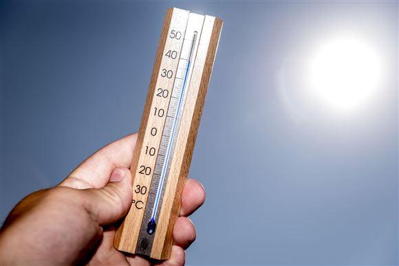 Op mod 20 grader: Årets varmeste dag