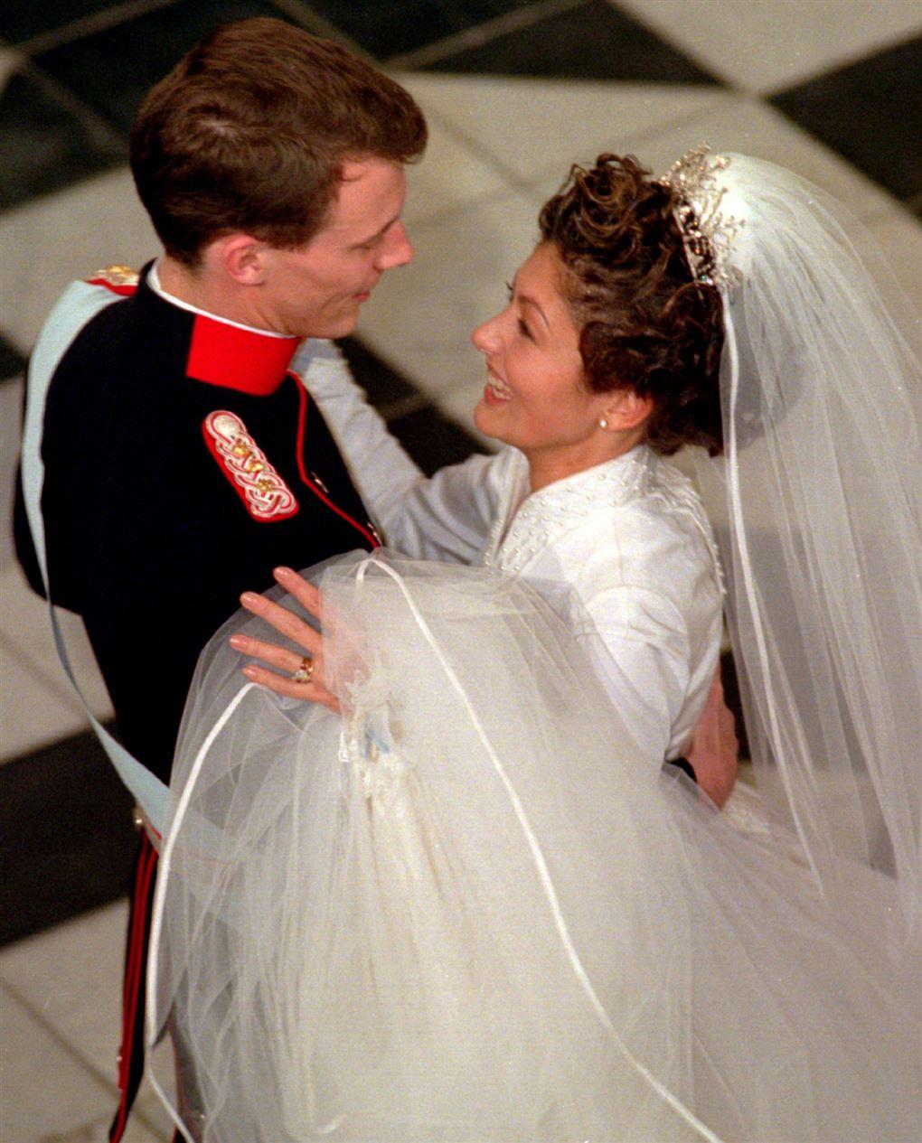 Alex og Joachim danser brudevals