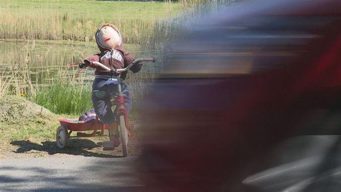 Dukker og børnecykler: Sådan skal vi undgå ulykker