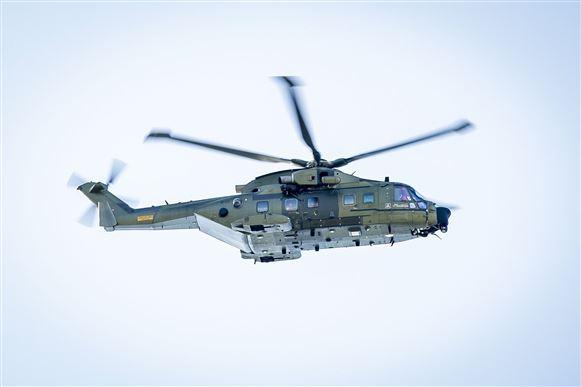 Helikopter måtte redde tysk turist på Rømø
