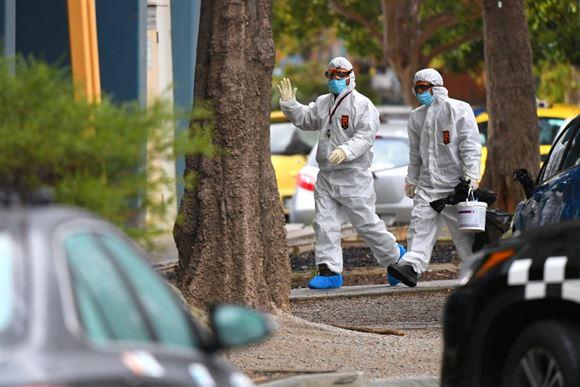 Virusudbrud lukker australsk grænse for første gang i...