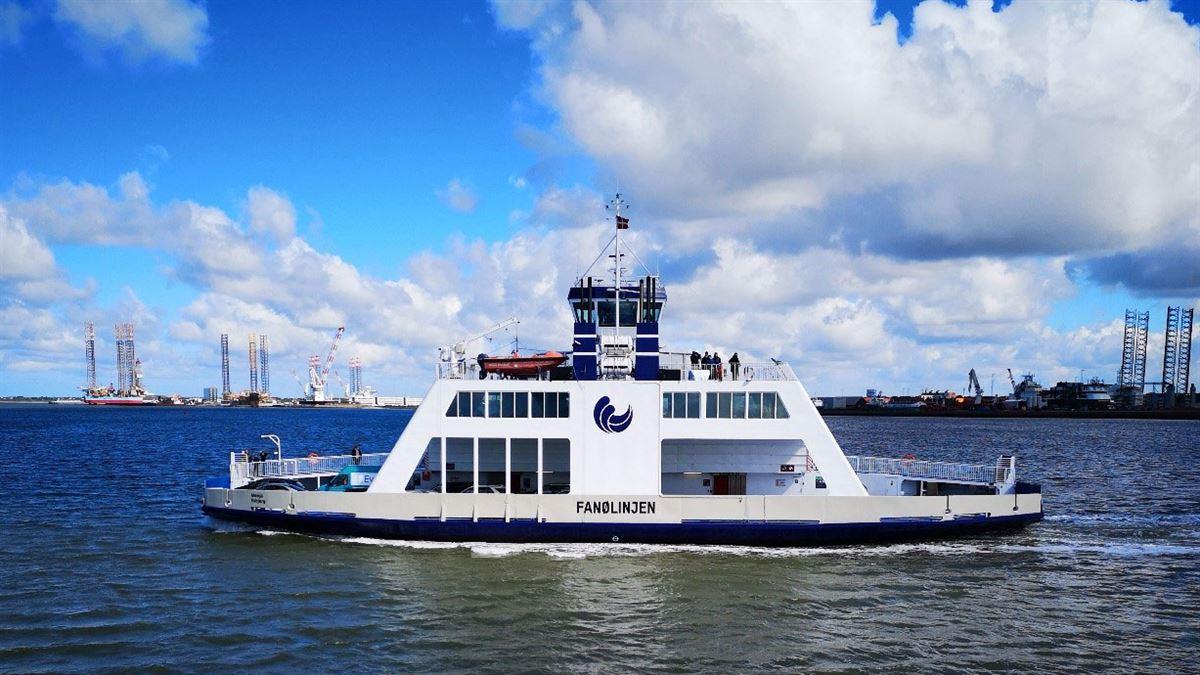 Færgen til Fanø