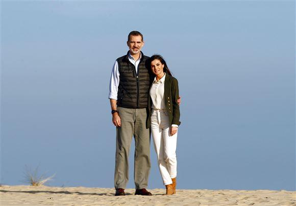 Kong Felipe og dronning Letizia