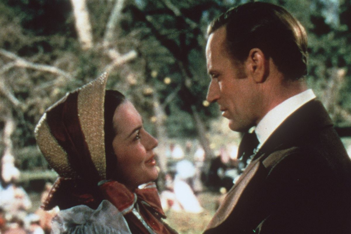 Olivia de Havilland og Leslie Howard