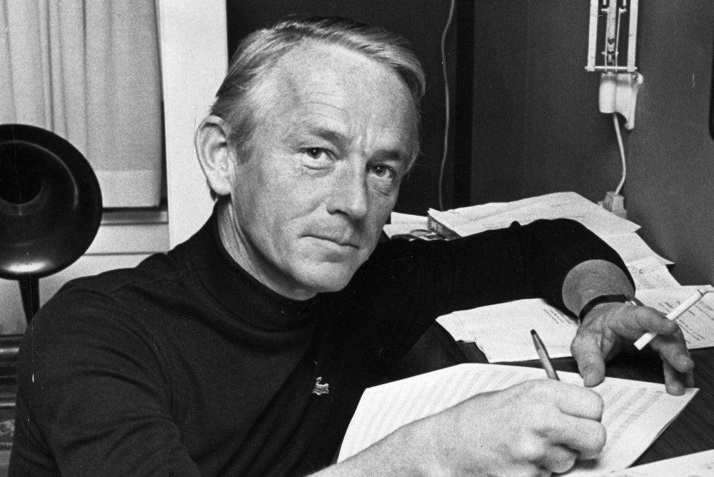 Bent Fabricius-.Bjerre på et billede fra 1970