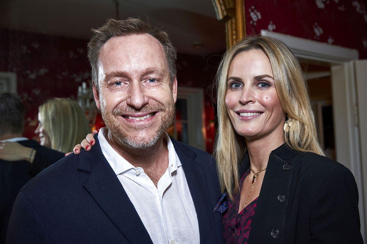 Adam Price og Annesofie Faurschou