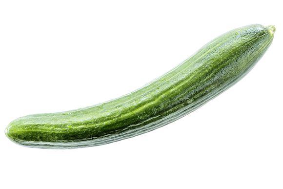 En rå agurk