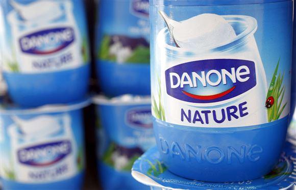 Danone yoghurt.
