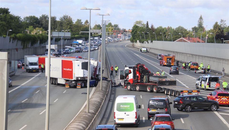 ulykke på Motorring 3
