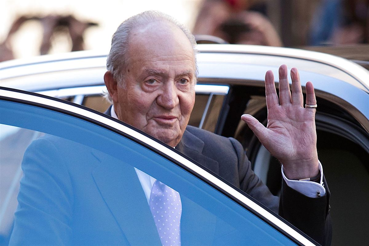 Spaniens ekskonge Juan Carlos.