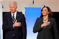 Joe Biden og Kamala Harris primærvalg