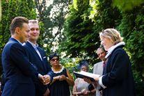 Vielse af par af samme køn i Frederiksberg Have