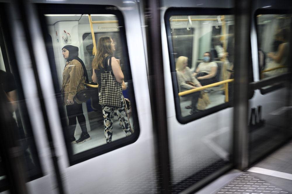 metrotog i København