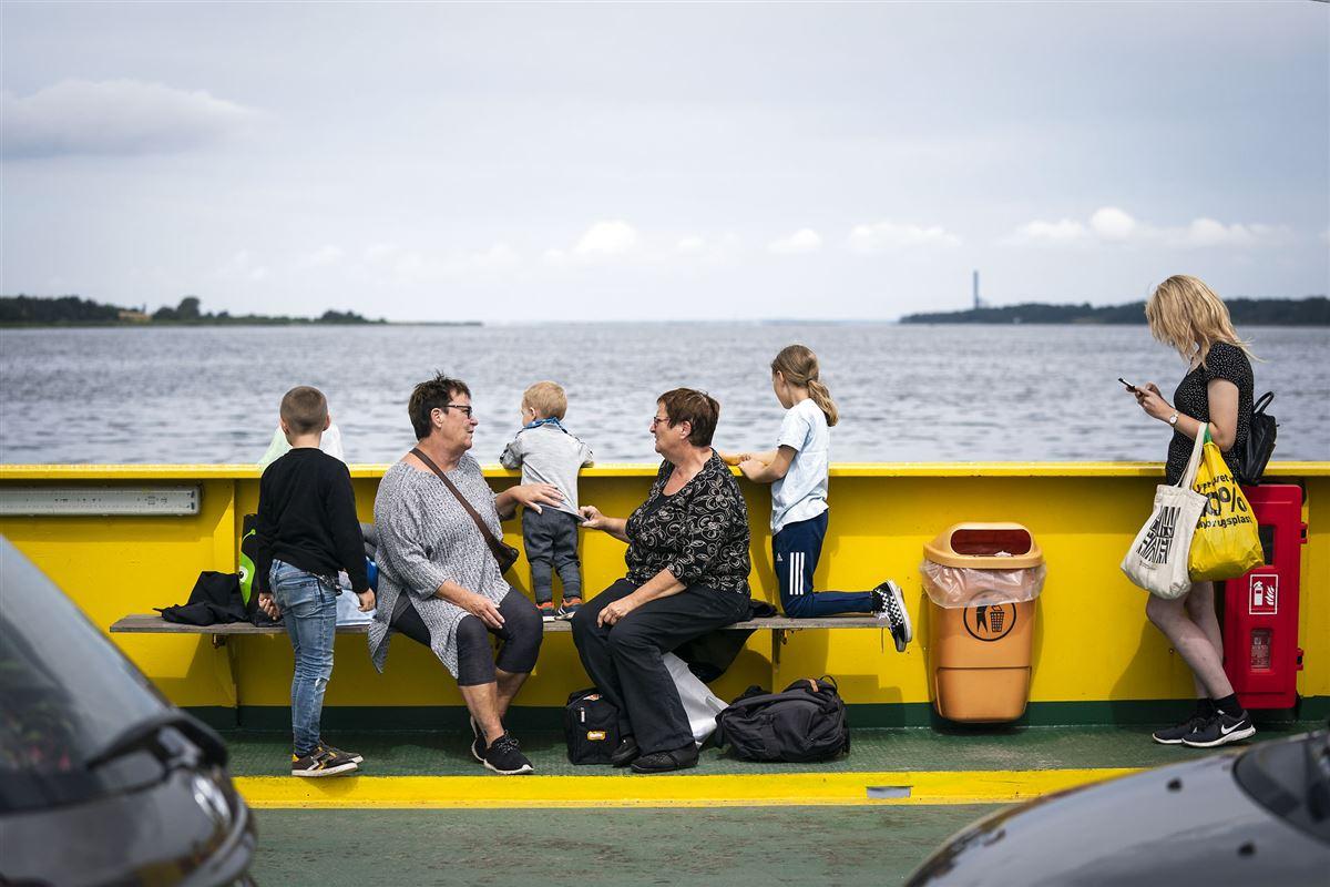 færge turister gratis
