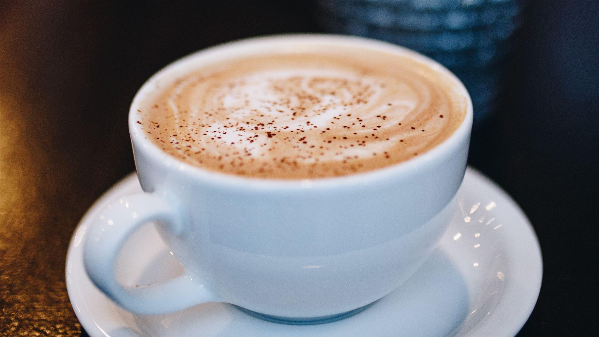 en kop kakao
