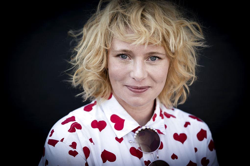 Sangerinden Annika Aakjær