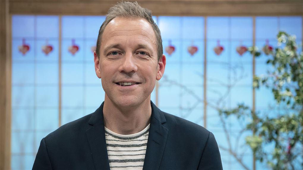 Portræt af Michael Stærke sportsvært på TV2