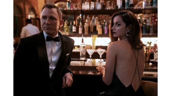Daniel Craig og Ana de Armas
