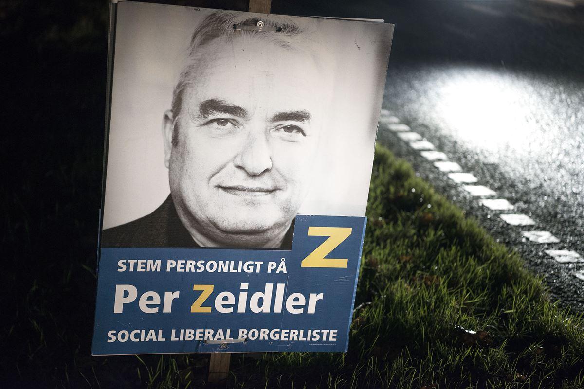 Valgplakat for Per Zeidler