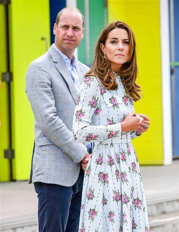 Prins William holder om prinsesse Kate