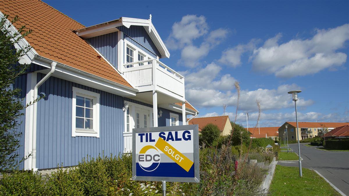 Billede af et hus der er blevet solgt