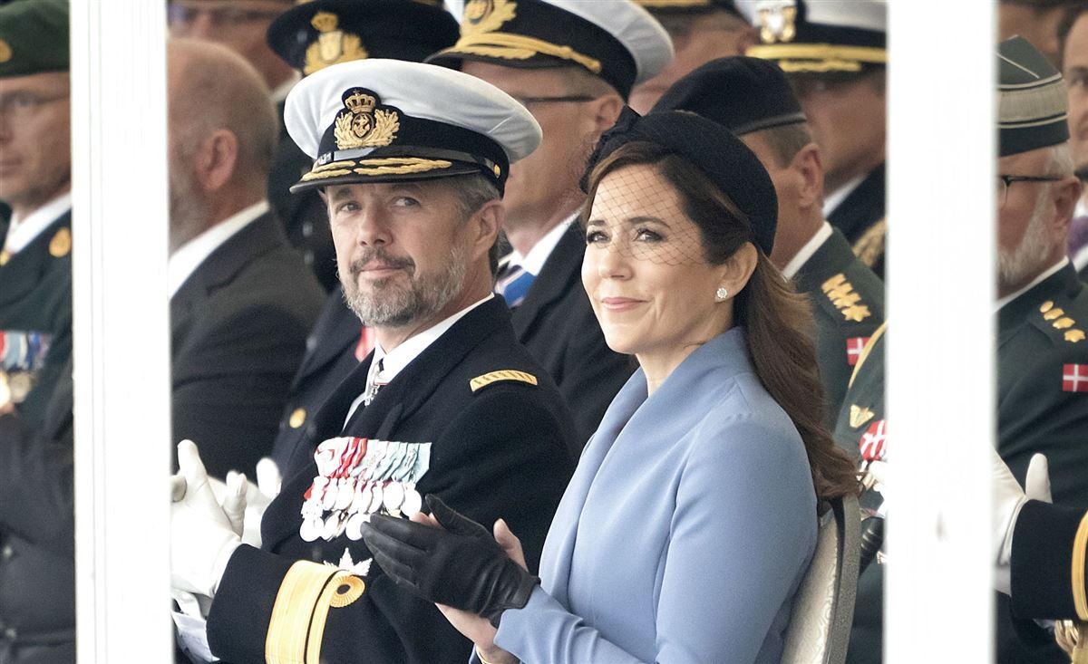 Kronprinsparret ved Flagdag for Danmarks udsendte