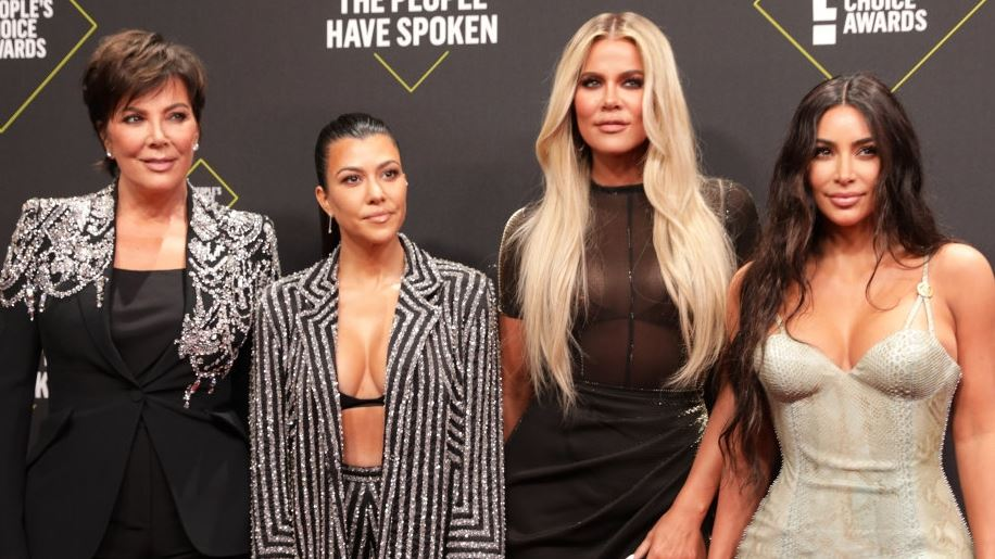 Billede af  Kris Jenner, Kourtney Kardashian, Khloe Kardashian og Kim Kardashian
