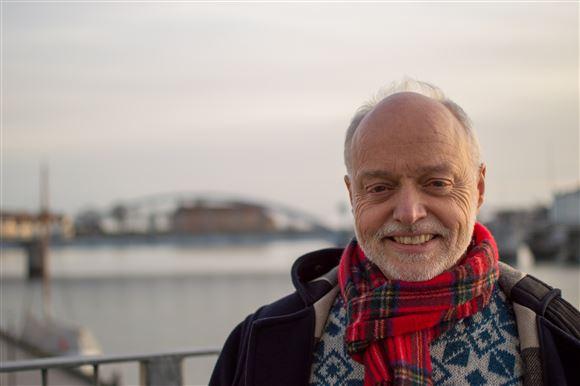 Portrætbillede af Nils Sjøberg