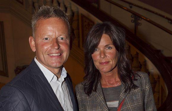 Bubber og eks-hustruen Christina Ibsen