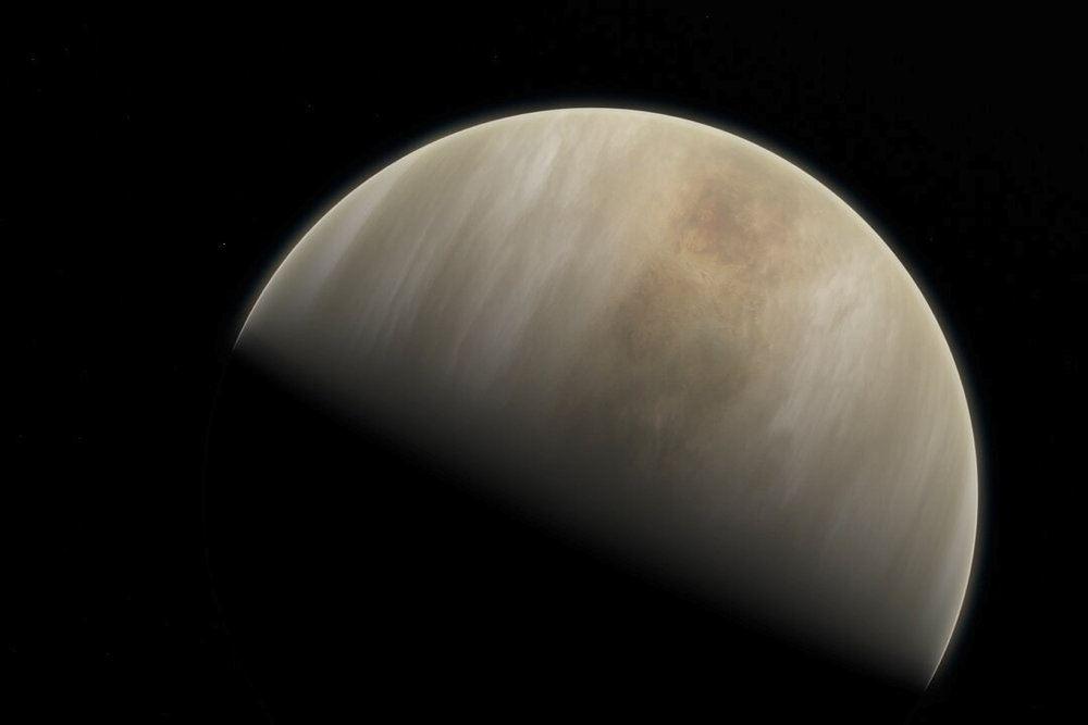 Billede af planeten Venus