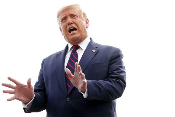 Den amerikanske præsident Donald Trump