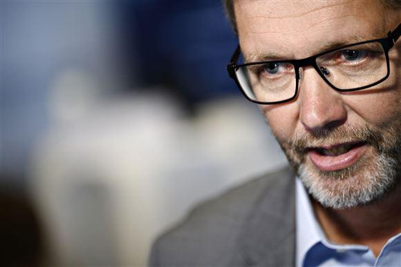 Københavns overborgmester Frank Jensen ved et coronapressemøde i september 2020
