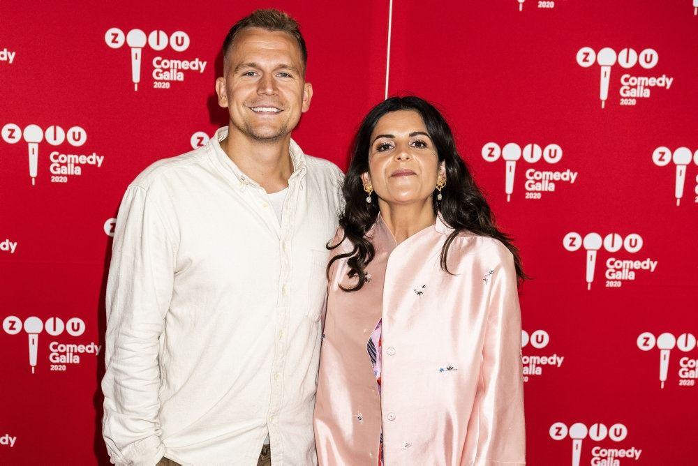 TV-værten petra Nagel og kæresten Asbjørn Munk