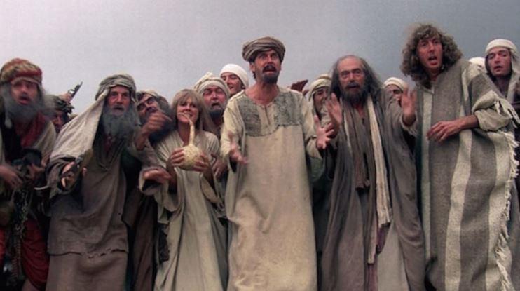 Medlemmerne af Monty Python i Life of Brian