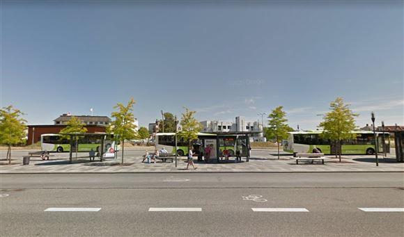 Busstationen i Svendborg