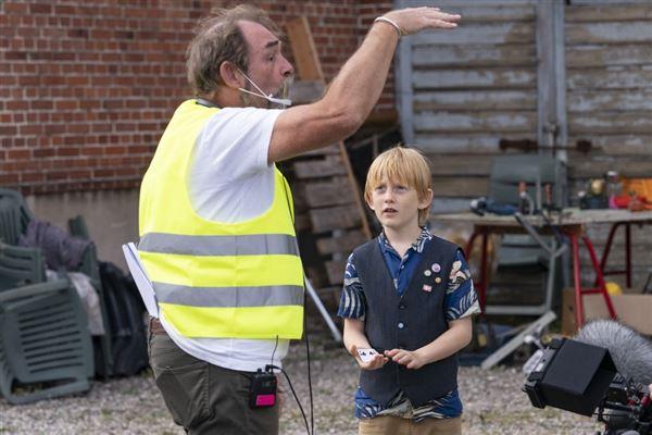 Den unge fyr, som skal spille Buster sammen med Martin Miehe Renard