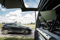 Fartkamera i bil