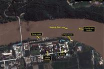 Satellitbillede af atomanlæg i Nordkorea