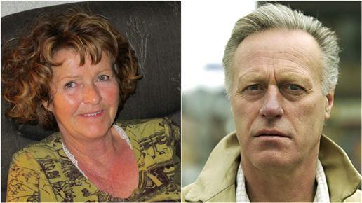 portrætter af Anne-Elisabeth og Tom Hagen