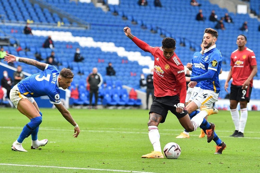 Manchester United-angriberen Marcus Rashford