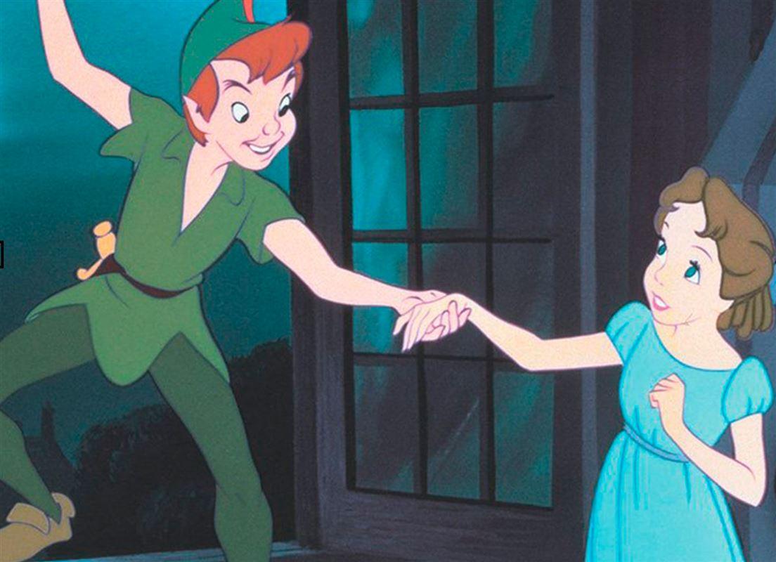 Peter Pan rækker ud til Gwendolyn