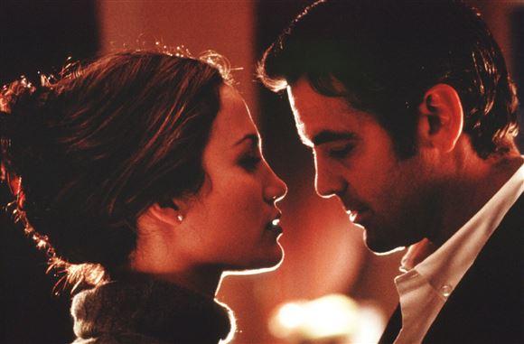 Jennifer og Clooney tæt sammen