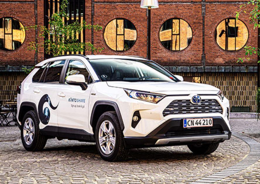 En hvis reklamebil fra Toyota