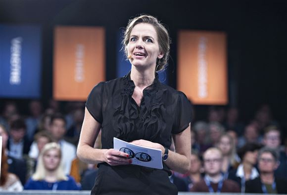 Ellen Trane Nørby taler på Venstres landsmøde