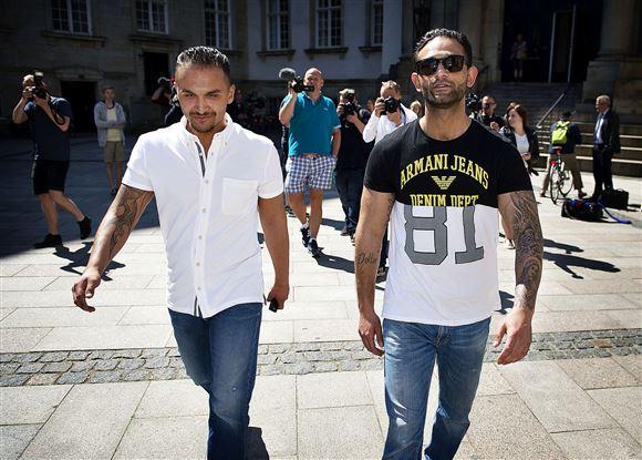 to mænd fra Levakovic-familien