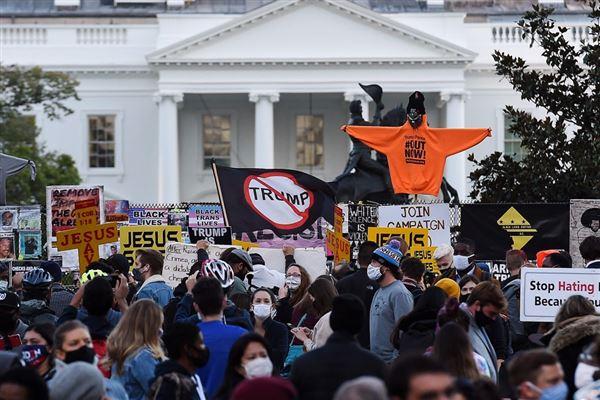 Demonstration foran Det Hvide Hus