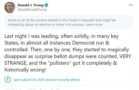 tweet fra donald trump