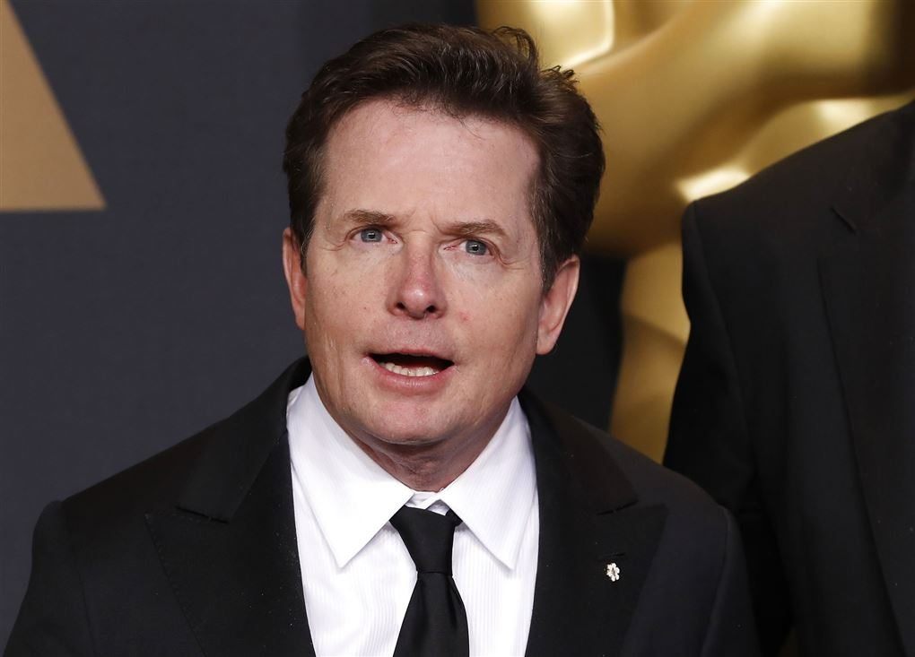 Michael J Fox i jakkesæt