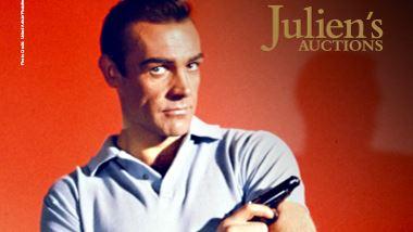 Sean Connery i Bond-positur