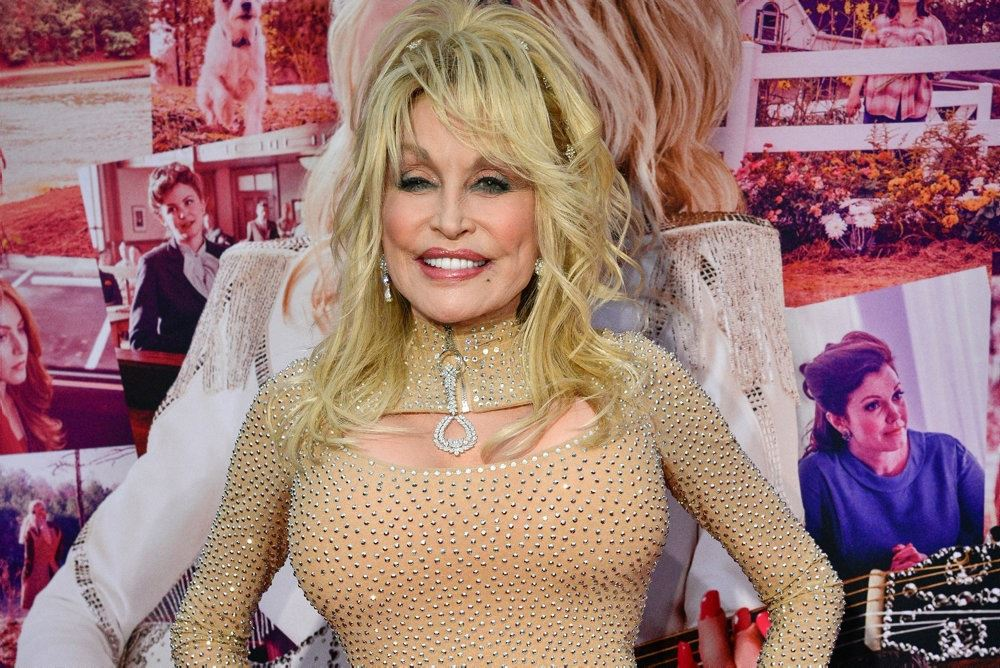 dolly parton smiler